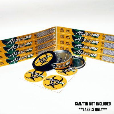 Alien Hazard OG label
