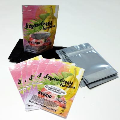 Strawberry Banana 4x6 bag labels