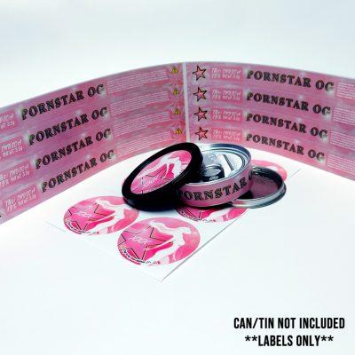 Pornstar OG cbd labels