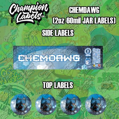 Chemdawg labels
