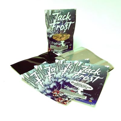 Jack Frost CBD bag stickers