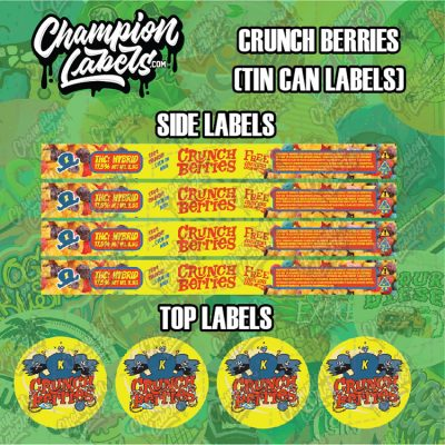 Crunch Berry labels