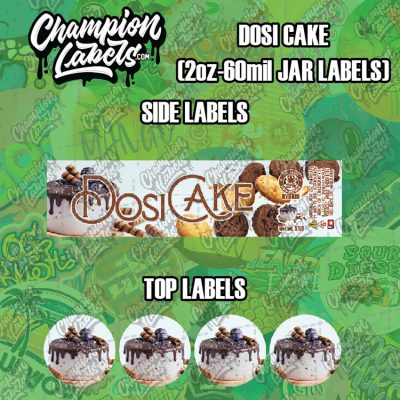 Dosi Cake labels