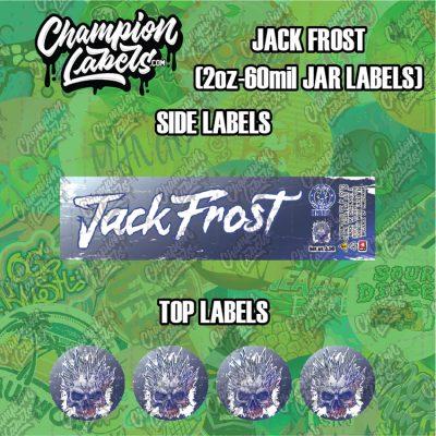 Jack Frost labels