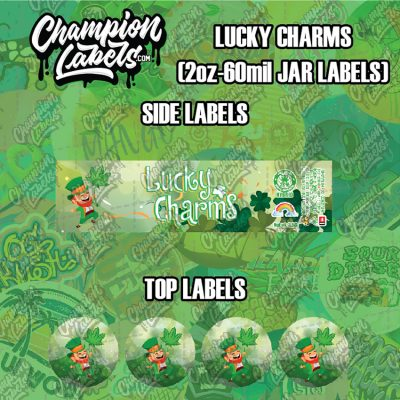 Lucky Charms labels