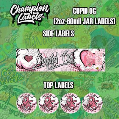 Cupid OG jar labels
