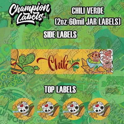 Chili Verde jar labels